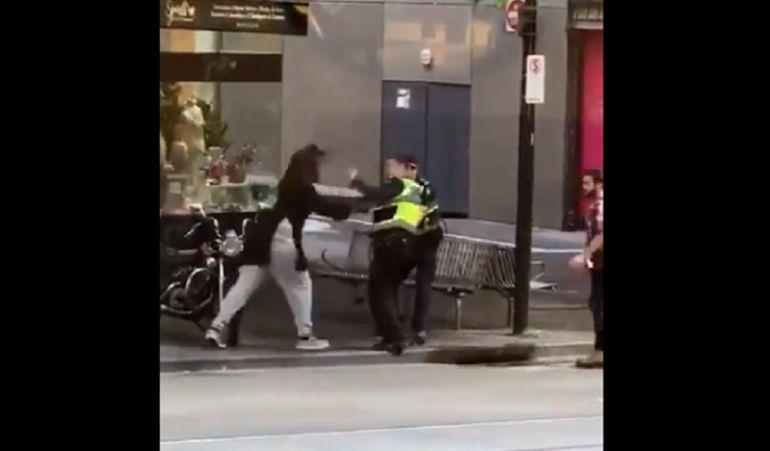 Así abatió un policía a terrorista después de terrible hecho