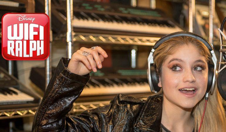 WiFi Ralph.: Karol Sevilla interpreta uno de los personajes y la canción de WiFi Ralph