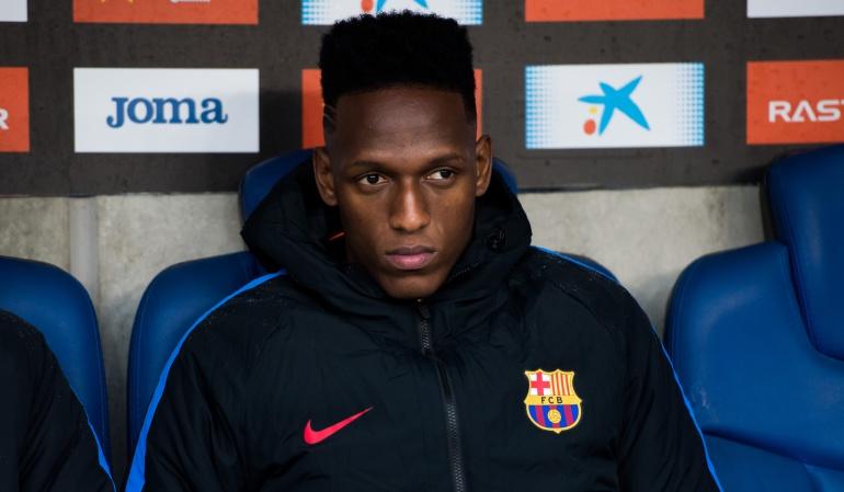 """Yerry Mina, entrevista The Telegraph: Yerry Mina: """"Entrenaba sólo pero Valverde no me llamaba"""""""