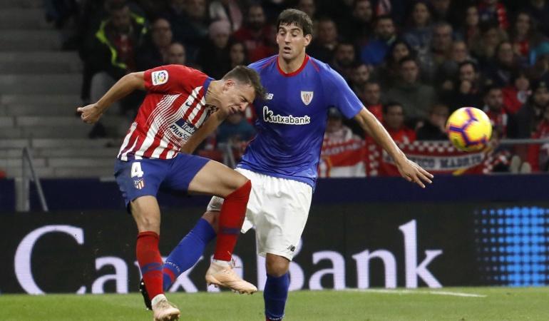 santiago arias atletico de madrid resumen goles bilbao: Atlético de Madrid remonta con Santiago Arias en cancha