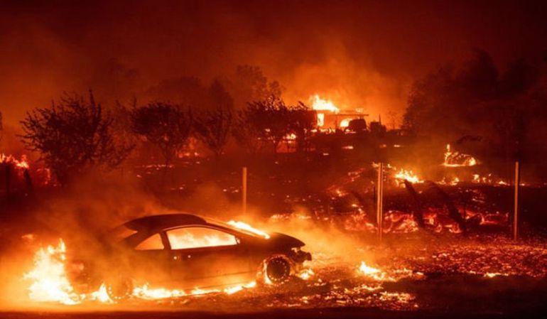 California: Estrellas de Hollywood desalojadas por incendios en EE.UU.