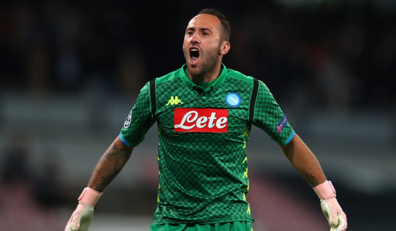 david ospina napoli contrato serie a: Con David Ospina titular, Napoli venció a Génova