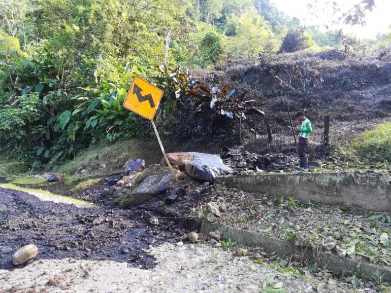 Nuevo atentado al Oleoducto Caño Limón Coveñas en Norte de Santander