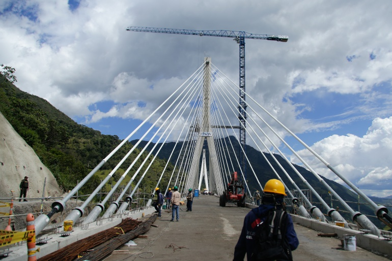 Prueba de fuerza puente Hisgaura: Sacyr respondió al pago que debe hacer de la prueba en puente Hisgaura