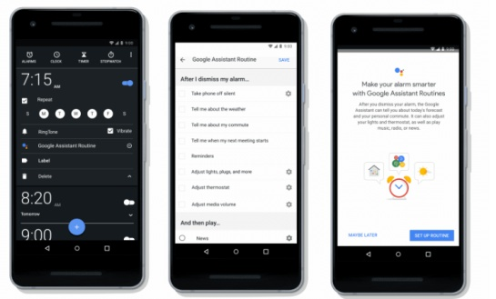 Google Auxiliary Routines: Is Morning Slow? Google has the solution
