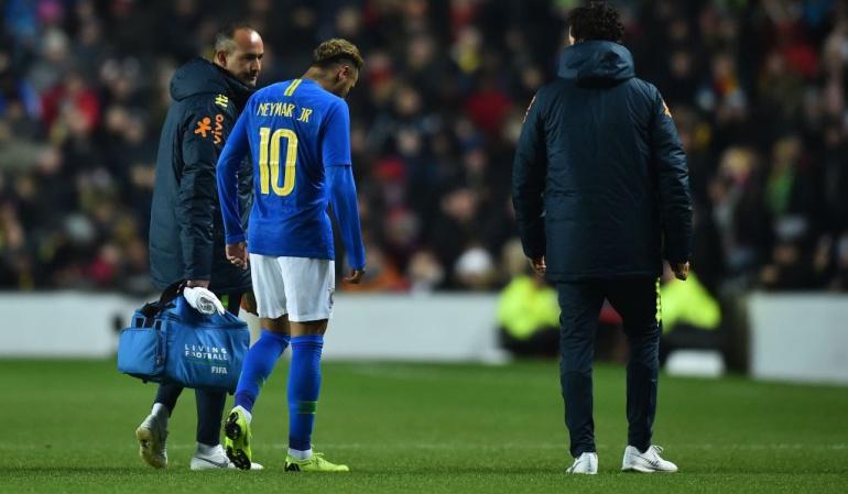 Alerta roja en el PSG: Neymar y Mbappé, lesionados en amistosos