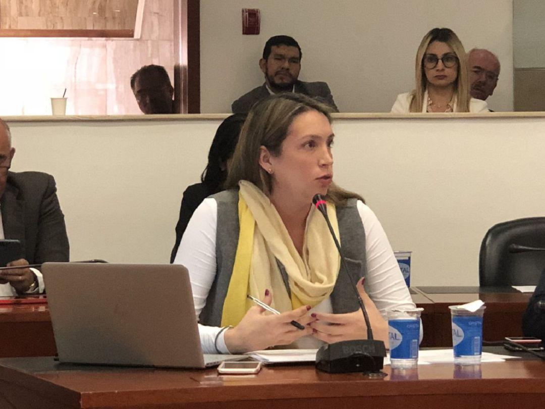 Terna gobernador: Sara Piedrahita: Aurelio Iragorri actuó con insolencia