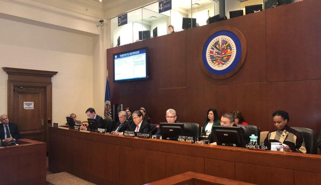 Venezuela en OEA: Colombia desarrolla plan de agresión en contra nuestra