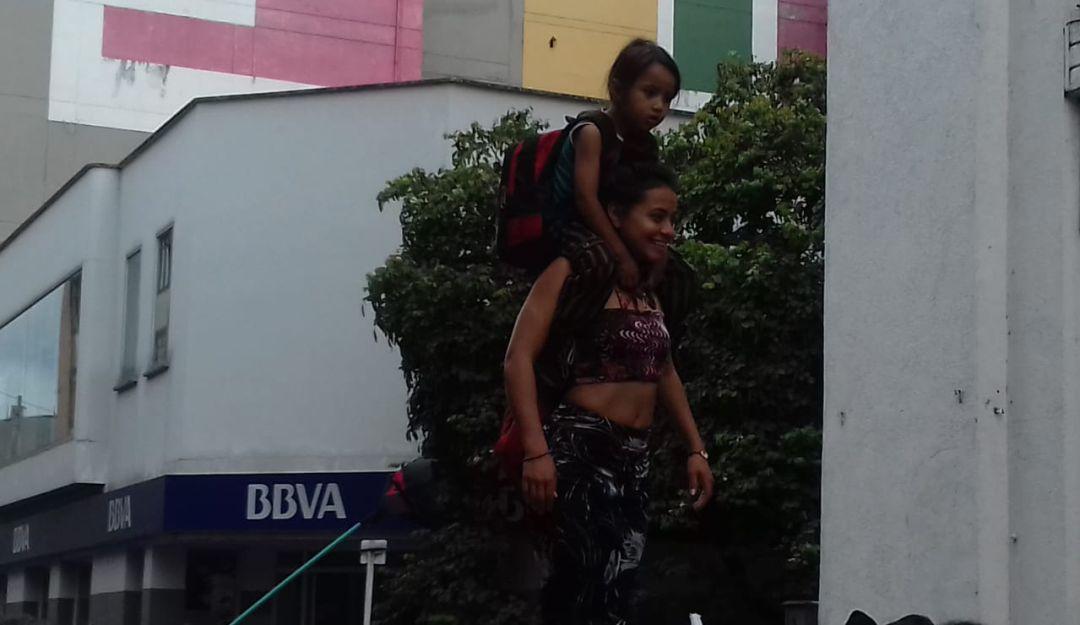 Estudiantes fueron los grandes de la jornada de movilización en la capital del Quindío