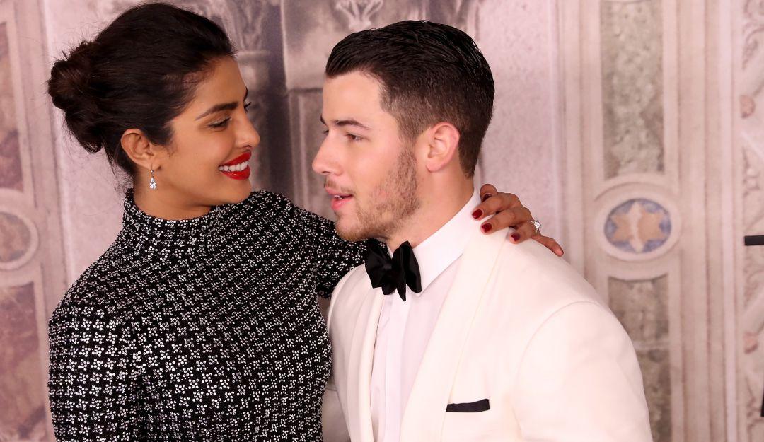 Primeras fotos de la extravagante boda de Nick Jonas y Priyanka Chopra