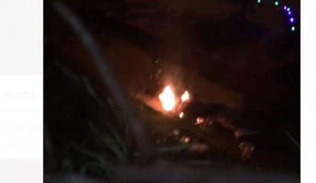 INCINERADO, ASESINADO, FUEGO, LA AMÉRICA: Asesinan y después incineraran a un hombre en Medellín