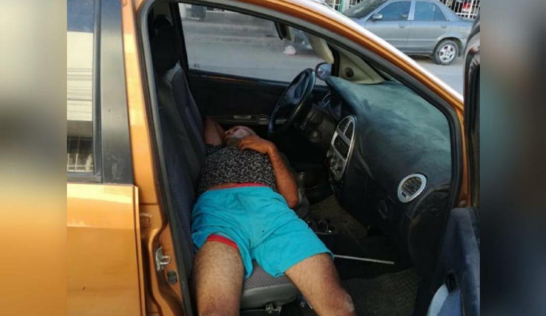Ladrón se duerme: En Santa Marta frustran robo de vehículo porque el ladrón se durmió