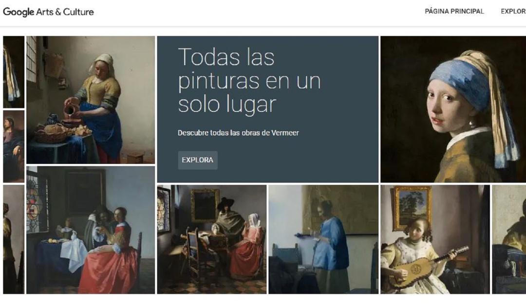 Google Art museo Johannes Vermeer: El pintor holandés Johannes Vermeer ya tiene su museo virtual