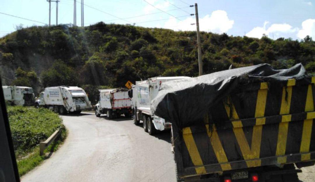 Relleno sanitario opera con normalidad tras protesta en Doña Juana