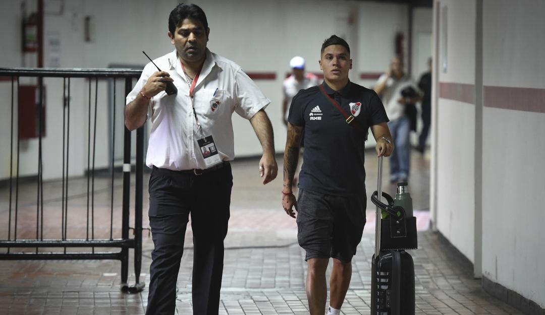river plate madrid: River Plate alzó maletas y va rumbo a Madrid