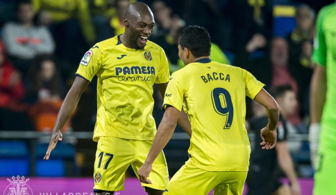 Doblete Carlos Bacca Villarreal Almería Copa del Rey: Doblete de Bacca en paliza del Villarreal al Almería