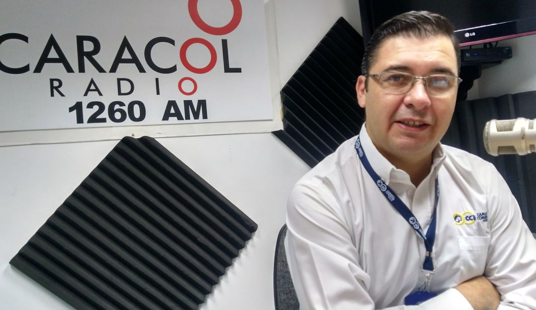 Luis Alfredo Huertas, presidente Cámara de Comercio de Ibagué