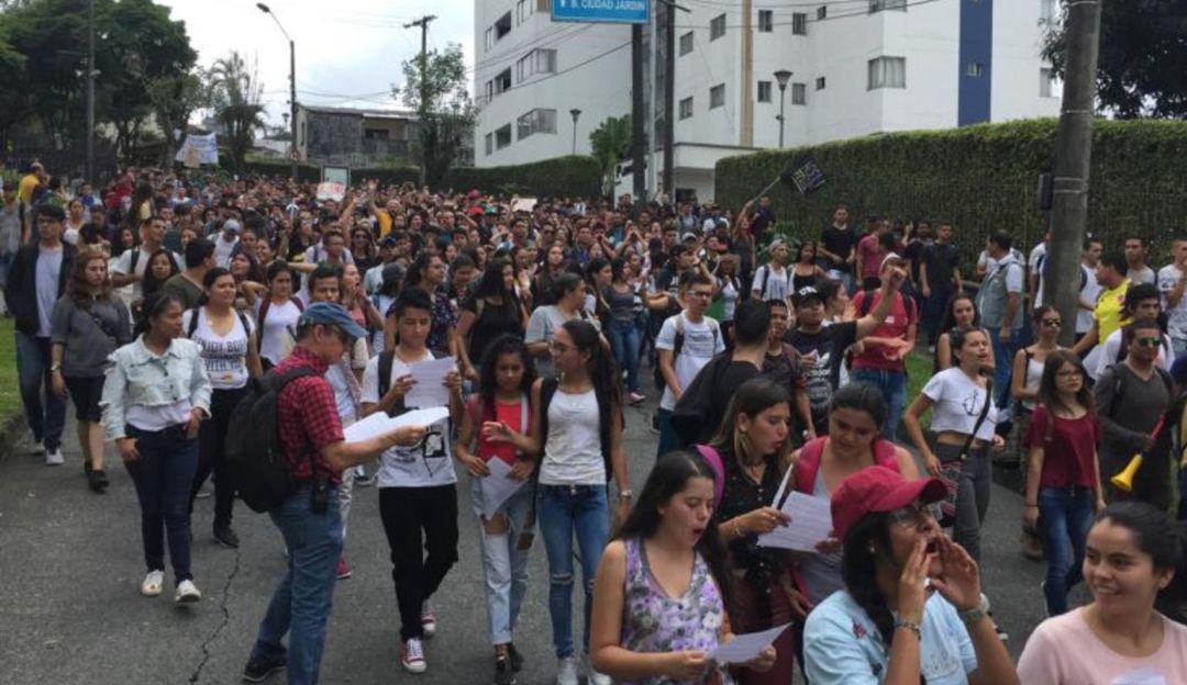 50 días de paro estudiantil generan $13.400 millones de perdida en Pereira