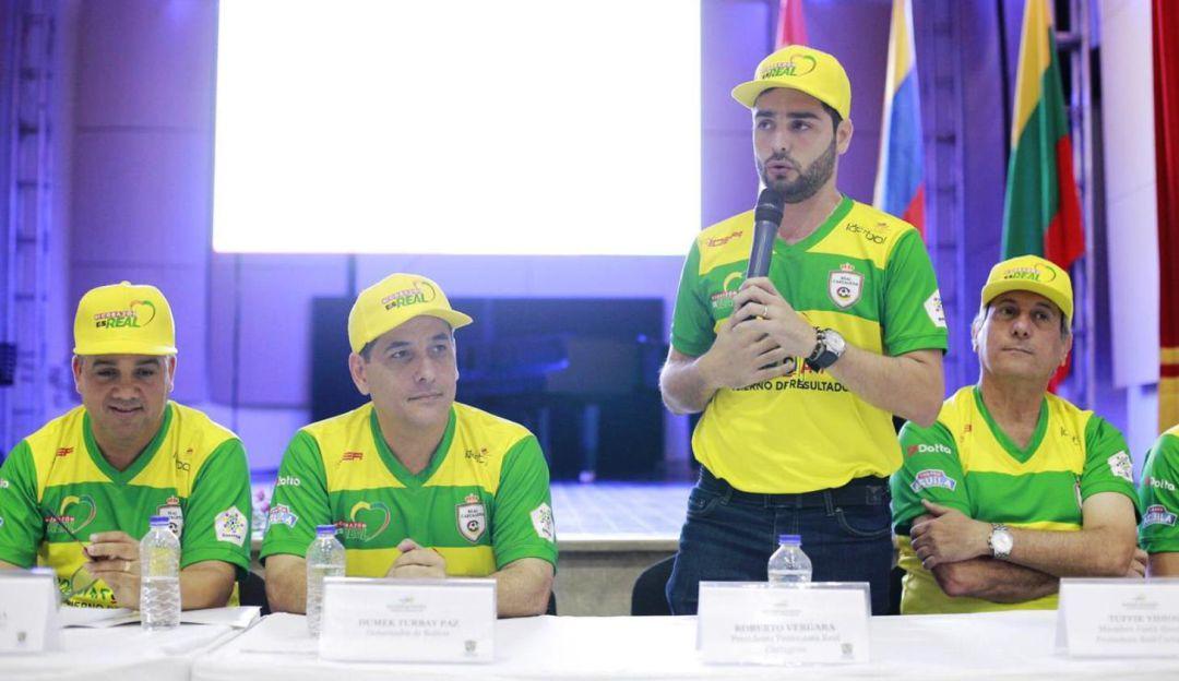 Asumió nueva junta directiva del Real Cartagena #MiCorazónEsReal: Asumió nueva junta directiva del Real Cartagena #MiCorazónEsReal