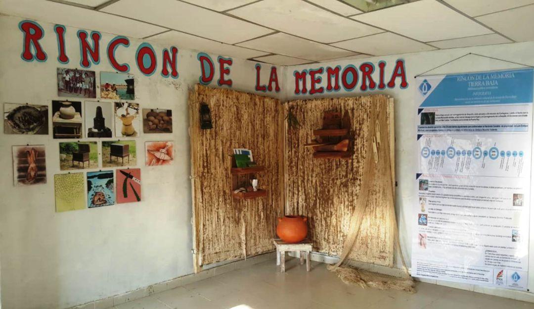 Un rincón lleno de memoria en la Biblioteca de Tierra Baja de Cartagena: Un rincón lleno de memoria en la Biblioteca de Tierra Baja de Cartagena