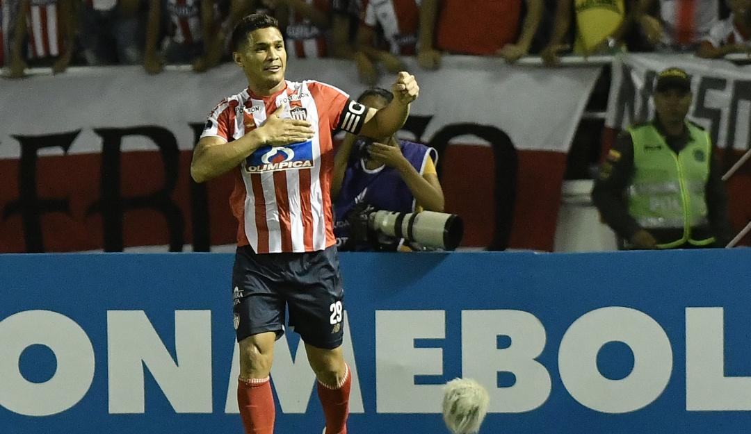Teófilo Gutierrez podrá jugar la final: Teófilo podrá estar en la final de vuelta de Junior ante Paranaense