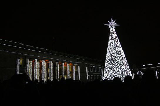 Estas son las plazas y monumentos que debe visitar en esta navidad