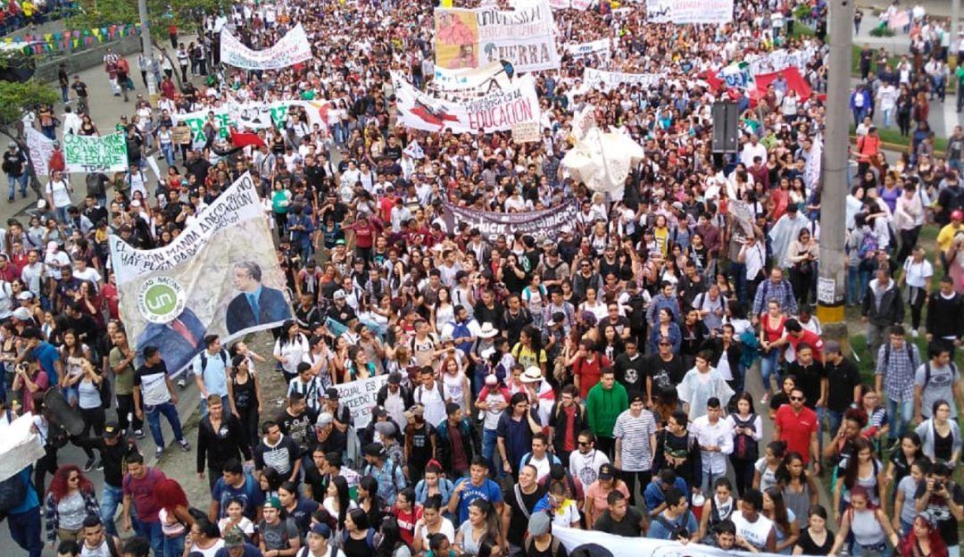 PLANTONES, ESTUDIANTES, MARCHAS, PROTESTAS, MEDELLÍN, PARQUES: Dos plantones estudiantiles habrá hoy en Medellín