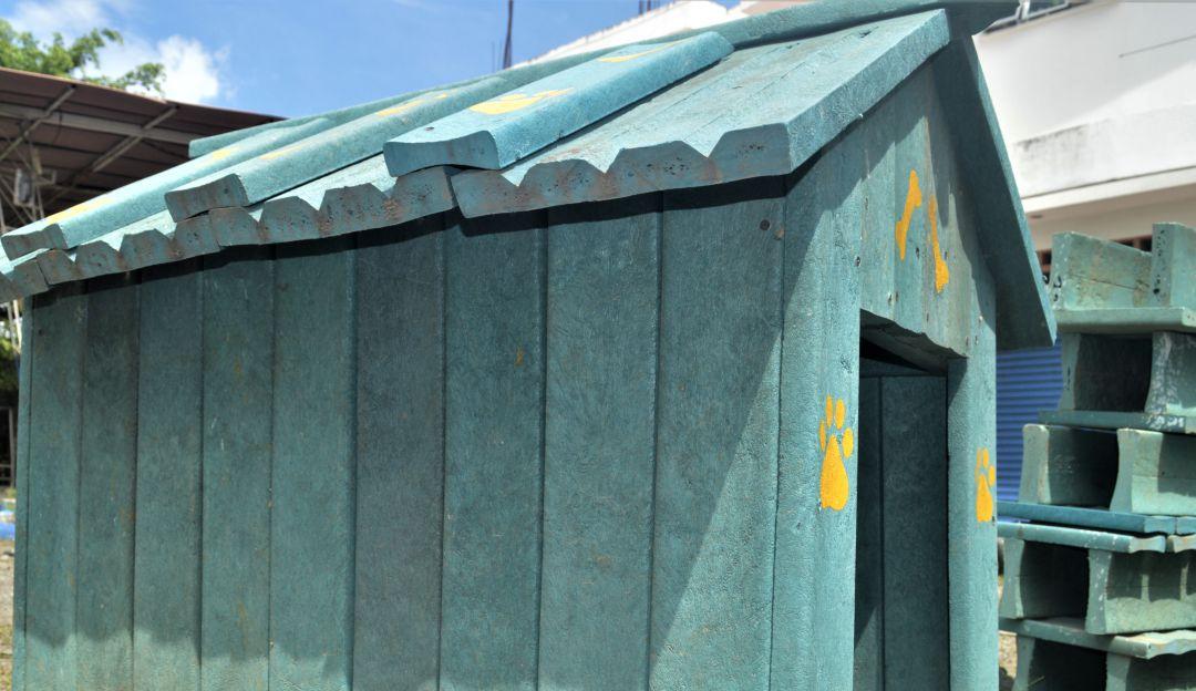 INNOVACIÓN, UPB, MADERA PLÁSTICA, URABÁ, ANTIOQUIA: La UPB creó madera plástica con material reciclado