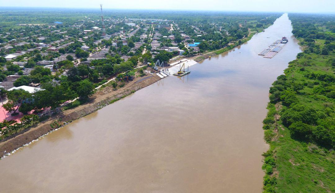 Inundaciones: Gobernación pide al Fondo de Adaptación una inspección en Canal del Dique