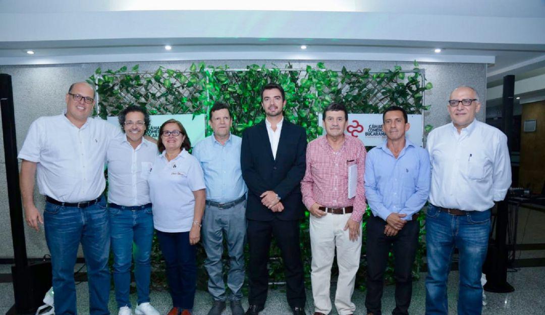 elección cámara de comercio de Bucaramanga: Elegida la nueva Junta Directiva de la Cámara de Comercio de Bucaramanga