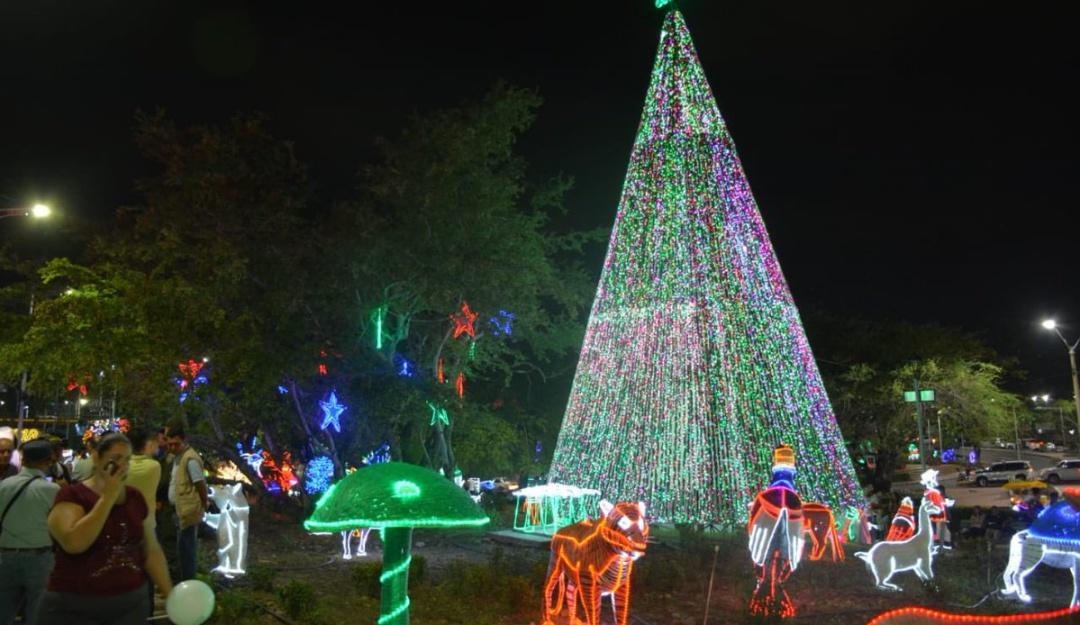 Luces navideñas en Cúcuta: Cúcuta inaugura alumbrado navideño