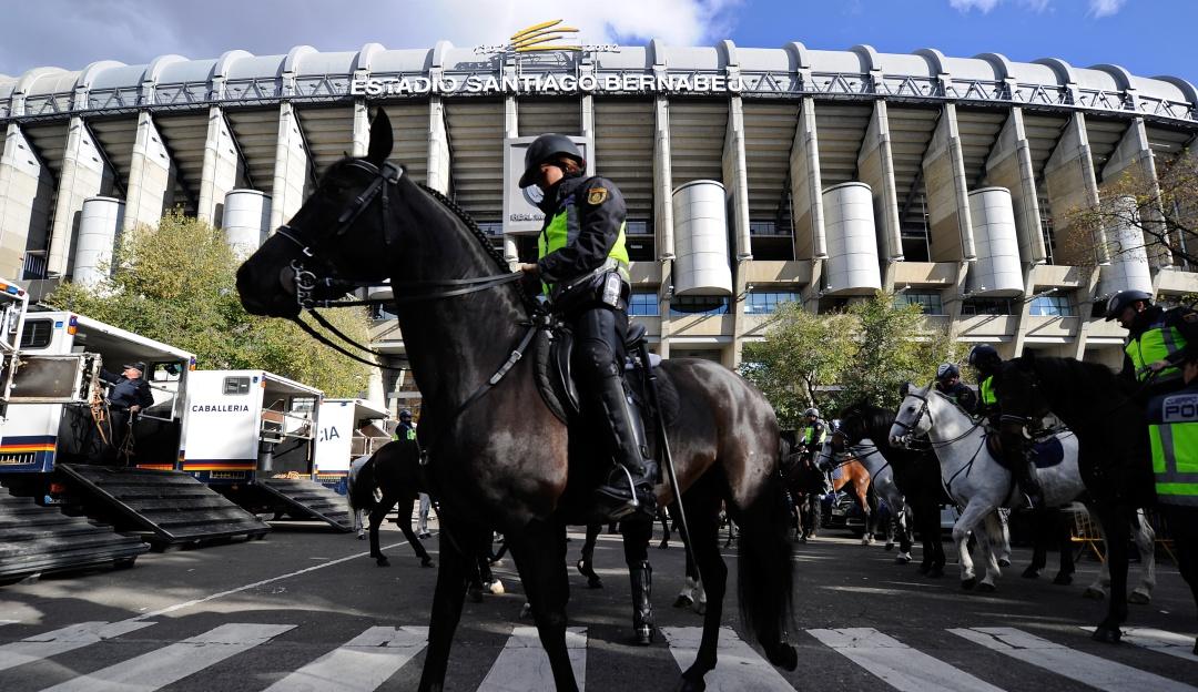 seguridad river boca madrid: Alrededor de 4.000 efectivos para la seguridad de la final de Libertadores