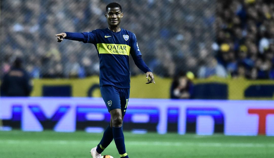 Wilmar Barrios once idea de Sudamérica: Barrios fue incluido en el equipo ideal de Sudamérica en la temporada