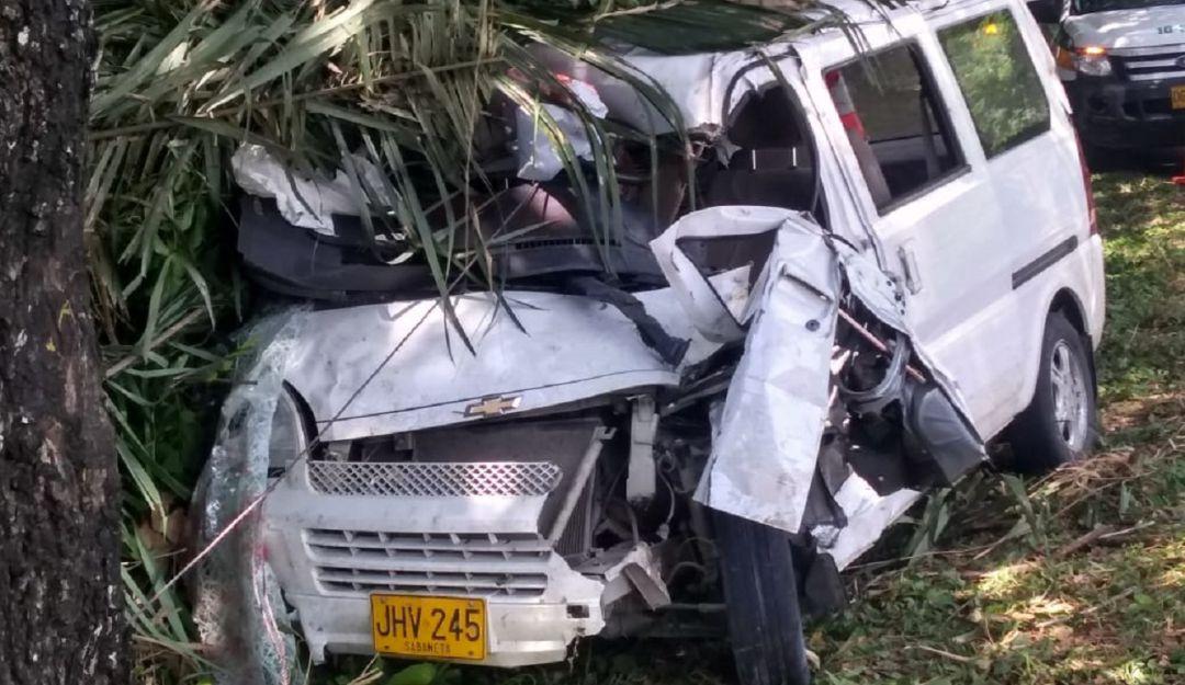Accidente de tránsito en Tolima: Accidente de tránsito en carreteras del norte del Tolima