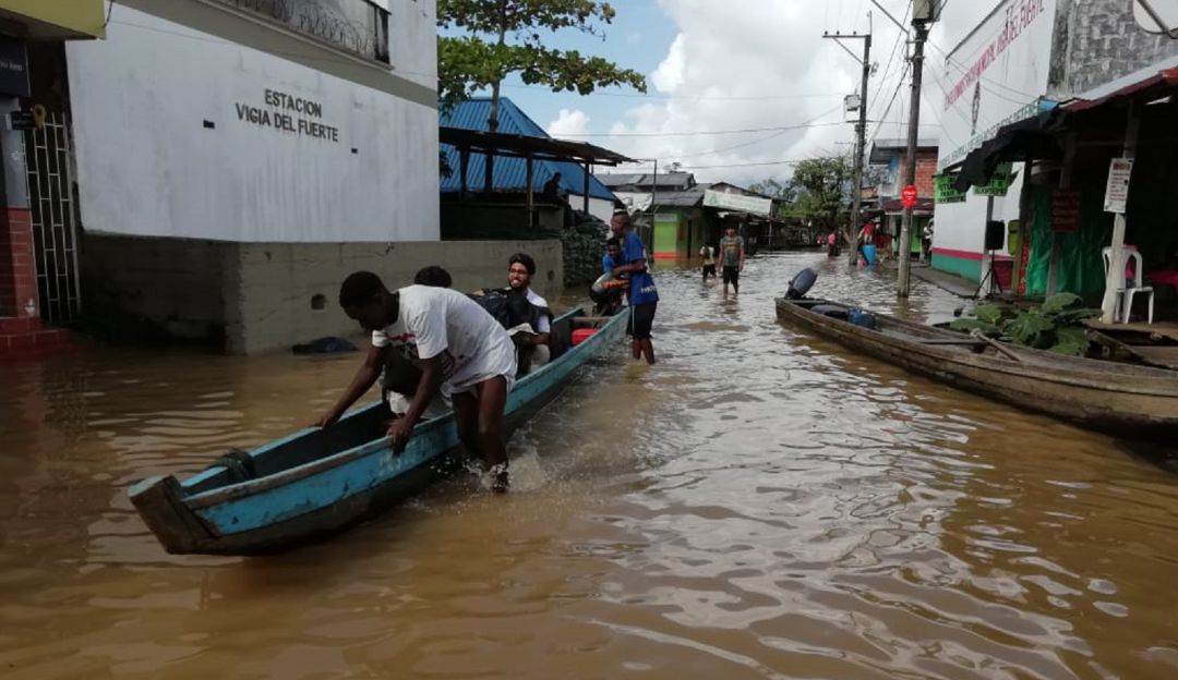 EMERGENCIA, INUNDACIÓN, PERSONERA, VIGIA DEL FUERTE, AYUDAS, ENFERMEDADES: Personera de Vigía del Fuerte pide ayuda urgente