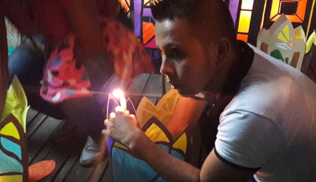 Noche de Velitas: Festival de velas y faroles de Quimbaya resalta importancia de la familia