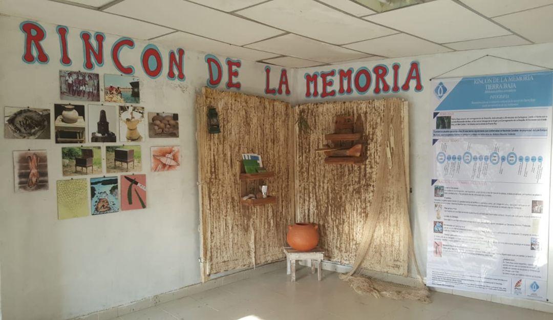 Un rincón lleno de memoria en la Biblioteca de Tierra Baja: Un rincón lleno de memoria en la Biblioteca de Tierra Baja