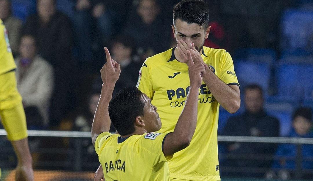 Carlos Bacca anotó doblete ante el Celta de Vigo