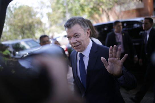 El expresidente Juan Manuel Santos.