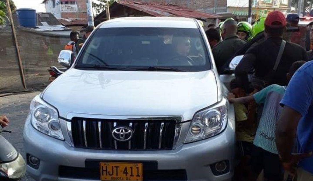 Grave accidente en Tumaco en el que está implicado vehículo de la UNP