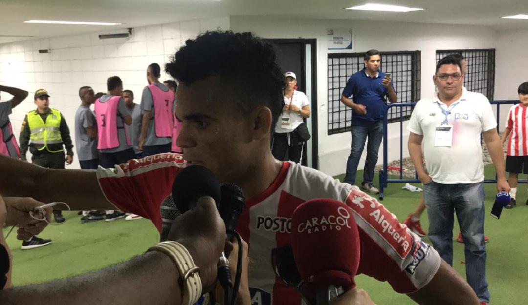 """Luis Díaz Junior Medellín final Liga Águila: Díaz: """"Demostramos lo que no pudimos hacer en la Sudamericana"""""""