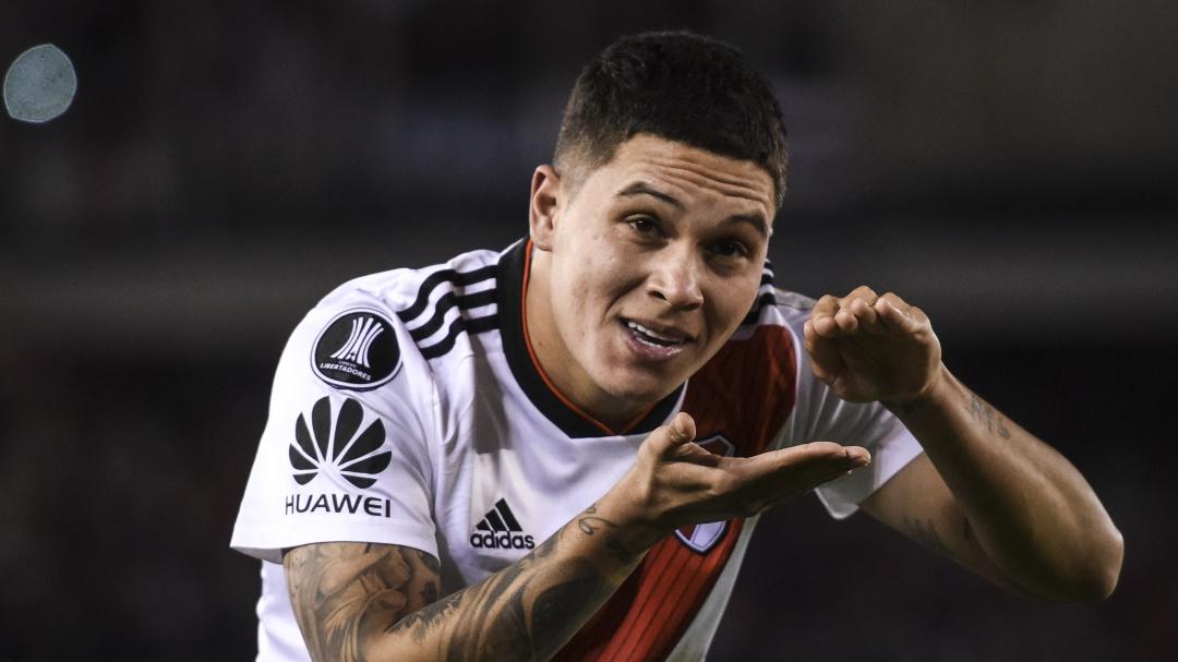 Reviva la narración del gol anotado por Quintero para el título de River