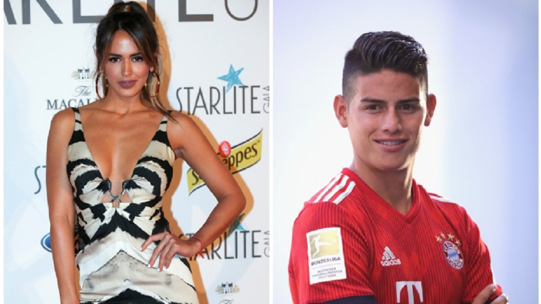 Así vivieron la final James y Shannon de Lima en el Santiago Bernabéu