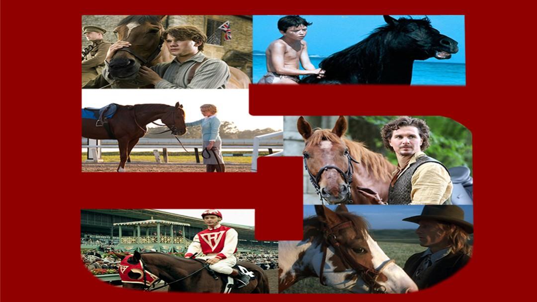 Top 5 de películas sobre caballos: Top 5 de películas sobre caballos