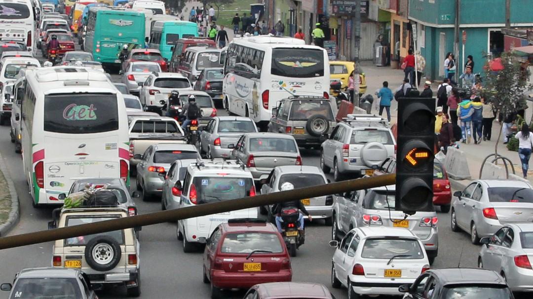 Tráfico en Navidad: En diciembre es cuando más se usa el vehículo particular en Bogotá