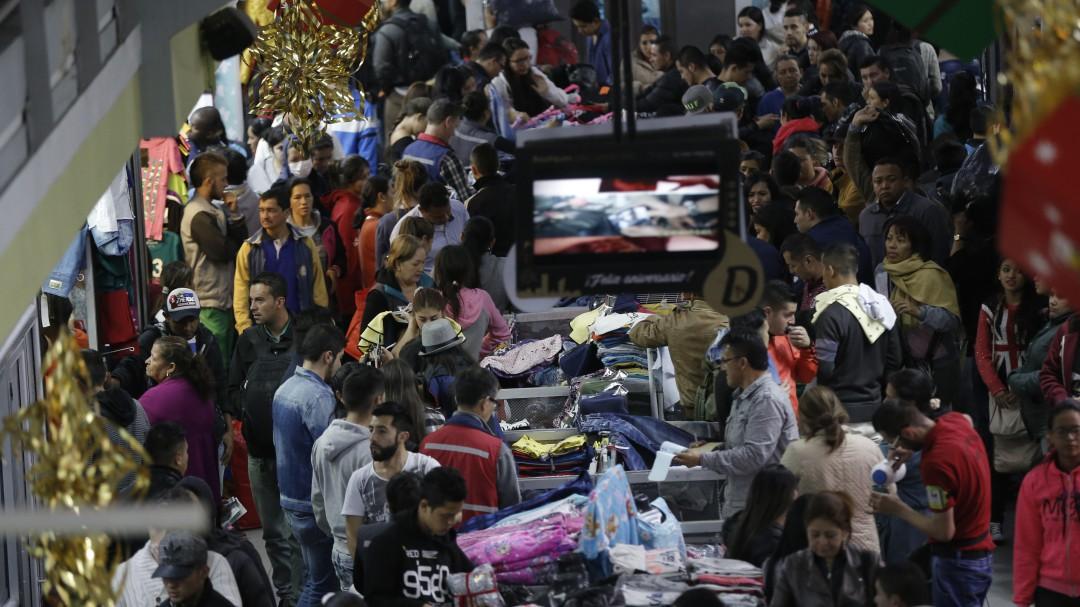 Comercio en San Victorino: El 90% de la mercancía del madrugón de San Victorino es colombiana
