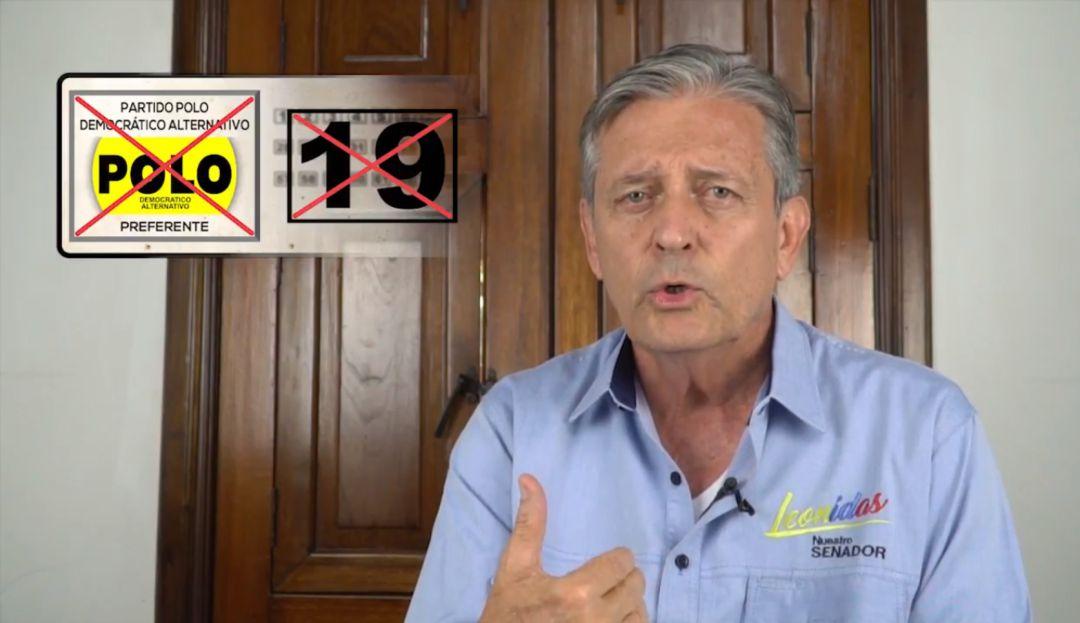 EL SENADOR LEONIDAS GÓMEZ RENUNCIA PARA LANZARSE A LA GOBERNACIÓN: Leonidas Gómez renuncia al senado para buscar Gobernación de Santander