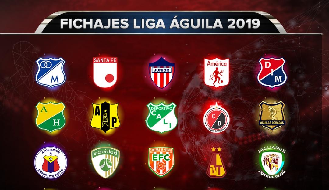 fichajes liga aguila 2019: ¡Se agita la bolsa de fichajes! Se refuerzan los equipos de la Liga Águila