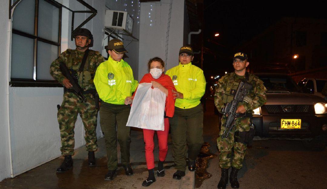 En Santander capturaron a una mujer cabecilla del Eln: Capturaron a cabecilla del Eln en Santander