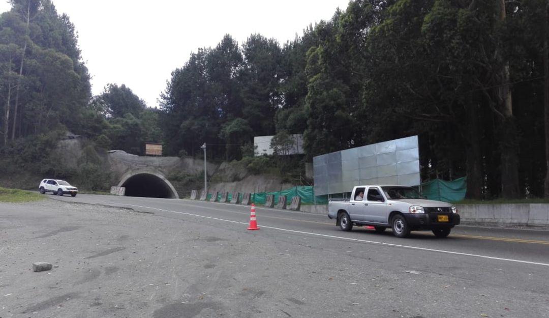 En el segundo semestre del 2020 se pondría en funcionamiento el túnel de La Línea